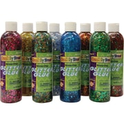 Chenille Kraft Glitter Chip Glue 8 oz., 8/Pack