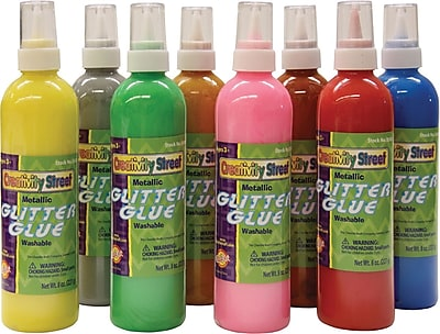 Chenille Kraft Glitter Glue 8 oz., 8/Pack