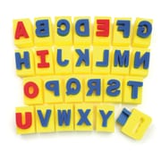 Chenille Kraft Paint Handle Sponges, Capital Letters (CK-9087)
