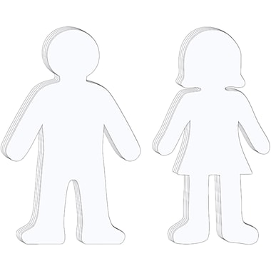 Chenille Craft® Whiteboard People Shapes