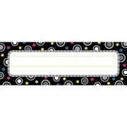 Creative Teaching Press™ Infant - 6th Grades Name Plate, Polka Dot Party