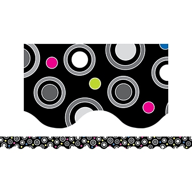 Creative Teaching Press™ Toddler - 12th Grades Scalloped Border, Polka Dot Party
