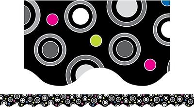 Creative Teaching Press™ Toddler - 12th Grades Scalloped Border, Polka Dot Party, 2/Bd