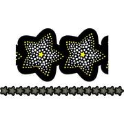 "Creative Teaching Press BW Collection CTP7148 35' x 2.75"" Sparkling Stars Borders, Black/White"
