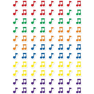 Creative Teaching Press Hot Spots Stickers, Music Notes, 7920/Pack (CTP7162)