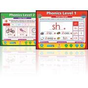 Daydream Education English Phonics Set Whiteboard Chart CD, Grades Pre Kindergarten - 3rd