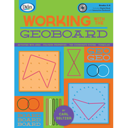 Didax® Working with the Geoboard Book and CD, Grades 5th - 8th