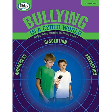 Didax® Bullying in a Cyber World Book, Grades 6th - 8th