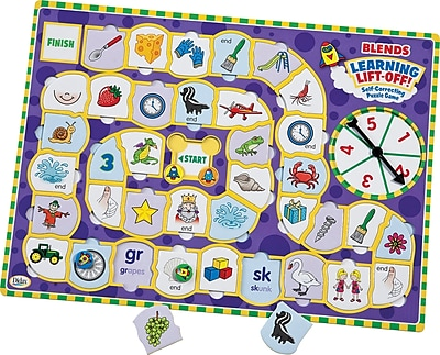 Learning Lift Off! Blends Game