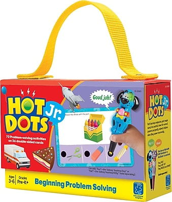 Hot Dots Jr. Card Sets, Problem Solving