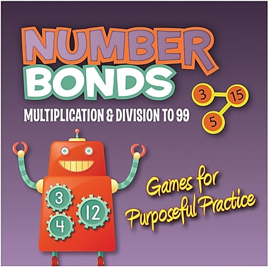 Essential Learning™ Multiplication and Division Number Bonds CD, Grades 2nd - 4th