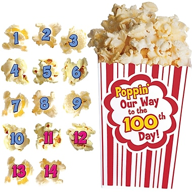 Edupress® Bulletin Board Set, 100 Days of Popcorn