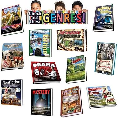 Edupress Bulletin Board Set, Literary Genres, 17/Set (EP-2292)