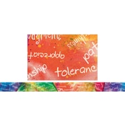 "Edupress Spotlight Border EP3318 39"" x 3"" Straight Character Building Traits Border, Multicolor"