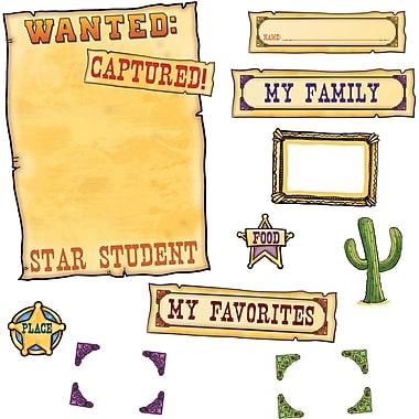 Edupress® Bulletin Board Set, Western Star Student