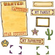 Edupress® Bulletin Board Set, Western Star Student