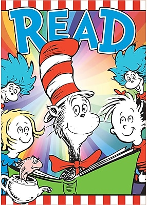 Dr. Seuss 3-D Read Bulletin Board Set