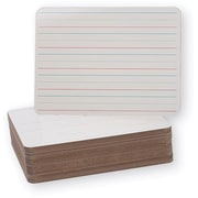 "Double-Sided Dry Erase Boards, 9"" x 12"" Classpack of 24"