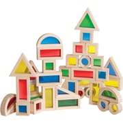 Guidecraft® Jr. Rainbow Blocks, 40 Pieces/Set