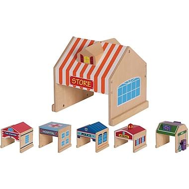 Guidecraft® Community Buildings Set