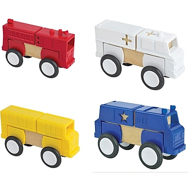 Guidecraft® Block Mates Community Vehicles