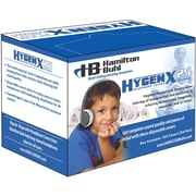 "Hamilton Buhl™ HygenX Disposable Headphone Covers, 2.5"" - 4"" Diameter, 50/PR, 2 PR/BD"