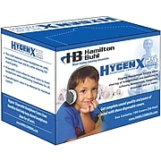 "Hamilton Buhl™ HygenX Disposable Headphone Covers, 2.5"" - 4"" Diameter, 50/PR, 2 PR/BD"