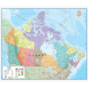 Round World Products Canada Laminated Map, Grade All (RWPHM06)