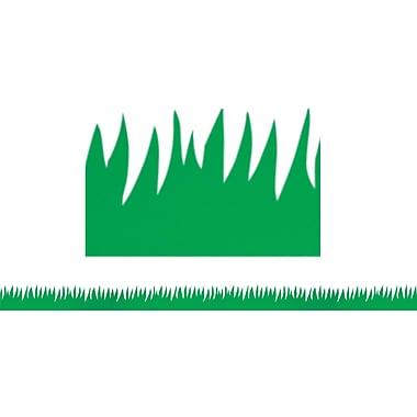 Hygloss Pre School - 8th Grades Classroom Border, Green Grass, 60/Pack (HYG33601)