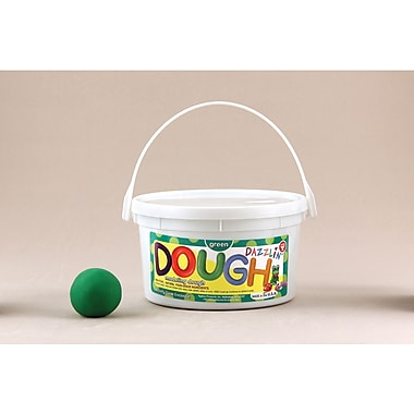 Hygloss Green Dazzlin' Dough, 3 Lb (HYG48302)