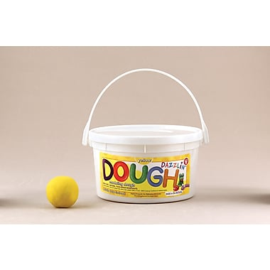 Hygloss Yellow Dazzlin' Dough, 3 Lb (HYG48304)