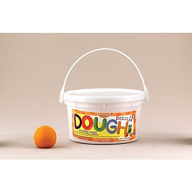 Hygloss Orange Dazzlin' Dough, 3 Lb (HYG48306)