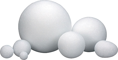 Hygloss® Styrofoam Balls and Eggs, 1
