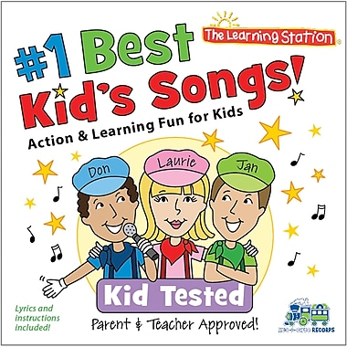 Kimbo Educational Number 1 Best Kids Songs Cd (KIMKUB1900CD)