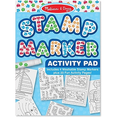 Melissa & Doug® Stamp Marker Activity Pad, Blue