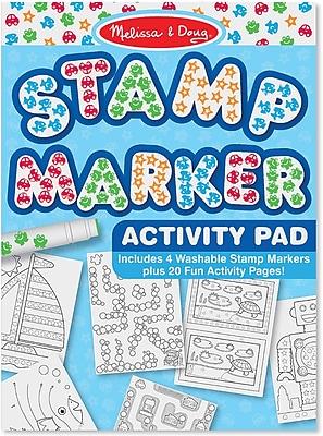 Melissa & Doug® Stamp Marker Activity Pad, Blue