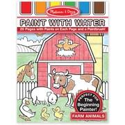 Melissa & Doug® Farm Animals Paint With Water Kids' Art Pad