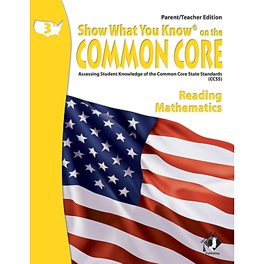 Milliken & Lorenz Educational Press Common Core Show What You Know Reading Book, Grades 3rd