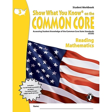 Milliken & Lorenz Educational Press Common Core Show What You Know Reading Student Book, Grade 3 (LEPNA3301)