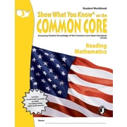 Milliken & Lorenz Educational Press – Common Core Show What You Know, cahier de l'élève, 3e année