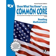 Milliken & Lorenz Educational Press – Common Core Show What You Know, cahier de lecture, 4e année (LEPNA3400)