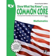 Milliken & Lorenz Educational Press Common Core Show What You Know Mathematics Book, Grades 6th