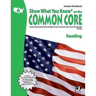 Milliken & Lorenz Educational Press Common Core Show What You Know Reading Student Book, Grade 6 (LEPNA3651)
