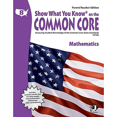 Milliken & Lorenz Educational Press Common Core Show What You Know Reading Maths Book, Grades 8th