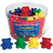 Learning Resources Three Bear Family Counters Basic Set, 80/Pack (LER0725)