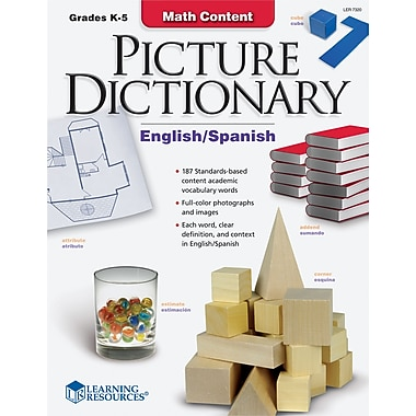 Learning Resources® Math Content Picture Dictionary, Grades Kindergarten - 5th