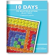 Learning Wrap-Ups 10 Days to Multiplication Mastery Student Workbook (LWU753)