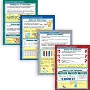 McDonald Publishing® Poster Set, Experimental Design