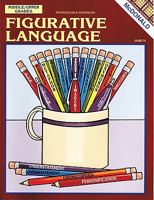 McDonald Publishing Figurative Language Reproducible Book 139345