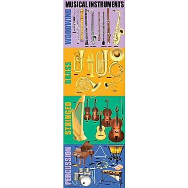McDonald Publishing® Colossal Poster, Musical Instruments